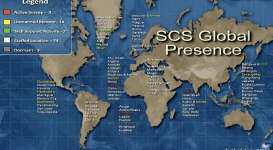 SCS Global Presence Spying