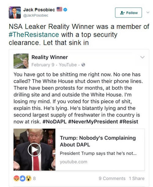 Winner Twitter NODAPL Trump Lies Tweet