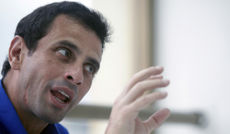 Did Henrique Capriles have a falling out with his US handlers?