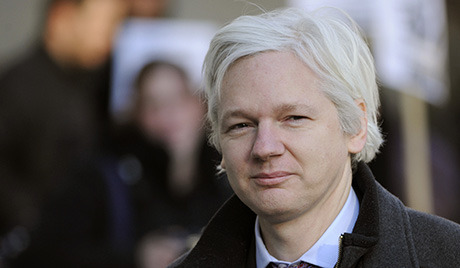 Assange officially files to run for Australian Senate