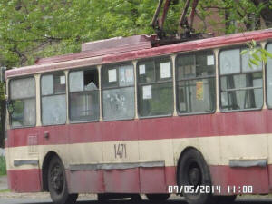 Ukraine Army Shoots Bus in Mariupol