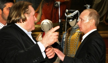 Depardieu is a friend - Putin